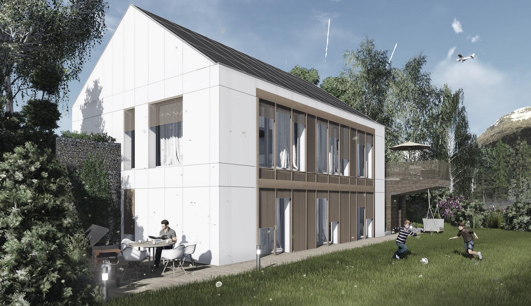 Das Haus III_projekt domu Domy Czystej Energii1