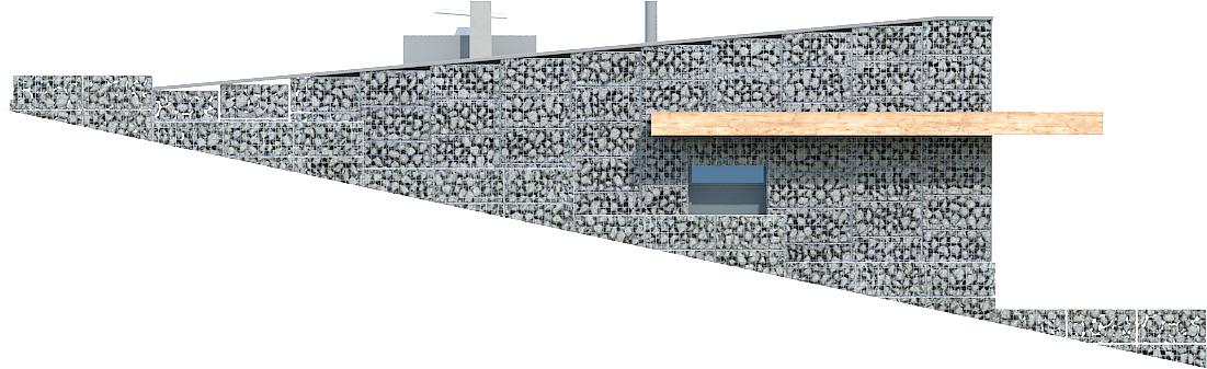 Projekt domu Z WIDOKIEM NA SŁOŃCE Domy Czystej Energii elewacja frontowa