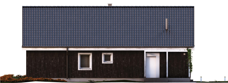 Projekt domu OSLO Domy Czystej Energii elewacja boczna