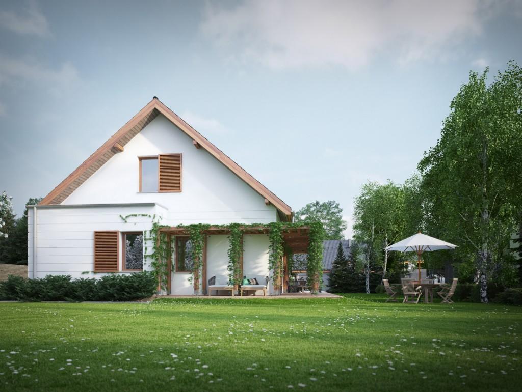 projekt_domu_dom_energooszczedny_domy_czystej_energii_PLEBANIA_waska_dzialka