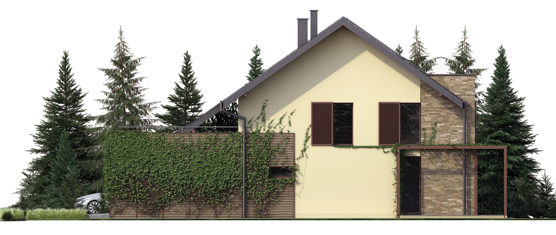 Projekt domu TWIN CLASSIC Domy Czystej Energii elewacja boczna